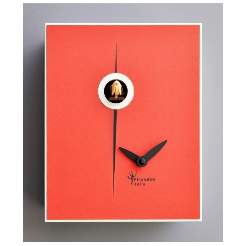 CUCKOO FOUNTAIN COLLECTION D'APRES PIRONDINI - CLOCK PRINT ON WOOD