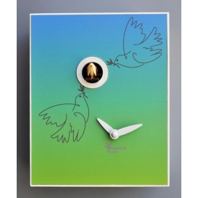 CLOCK CUCKOO PICASSO COLLECTION D'APRES PIRONDINI