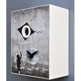 CLOCK CUCKOO BANKSY COLLECTION Of APRES PIRONDINI