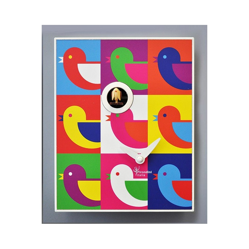 CLOCK CUCKOO ANDY WARHOL COLLECTION D'APRES PIRONDINI