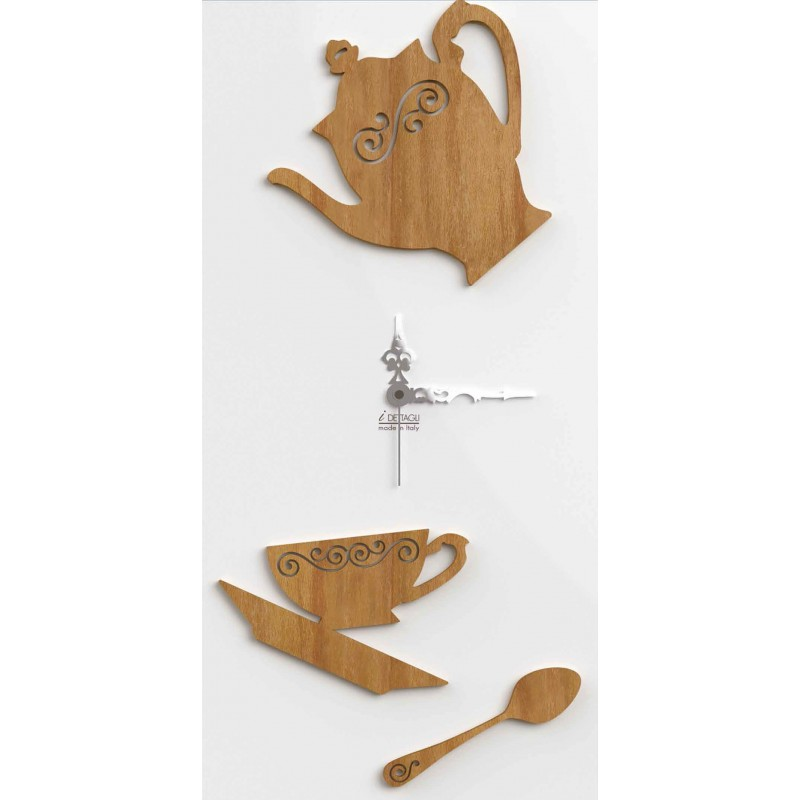 CLOCK KITCHEN WOOD-RECTANGULAR FOR WALL - COLLECTION DETAILS