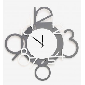 CLOCK IN LACQUERED WOOD, COLLECTION DETAILS HOME