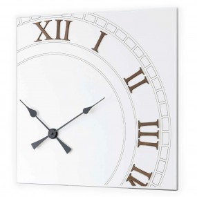 WALL CLOCK ROUND WOODEN COLLECTION DETAILS