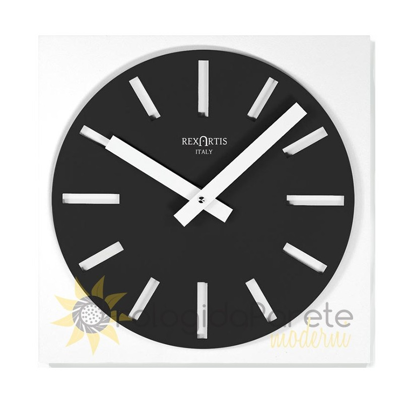 WALL CLOCK MERAK BLACK