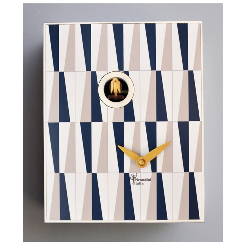 CUCKOO GIO COLLECTION D'APRES PIRONDINI - CLOCK PRINT ON WOOD