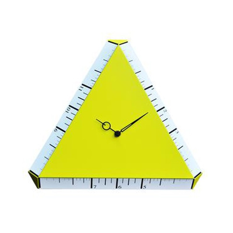 WATCH PYTHAGORAS - CLOCK WOOD WALL-mounted LACQUERED