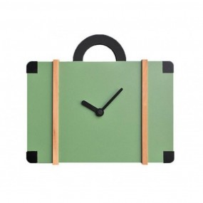WATCH GREEN LACQUERED WOOD MODEL BAG FOR THE WALL-COLLECTION ONLY