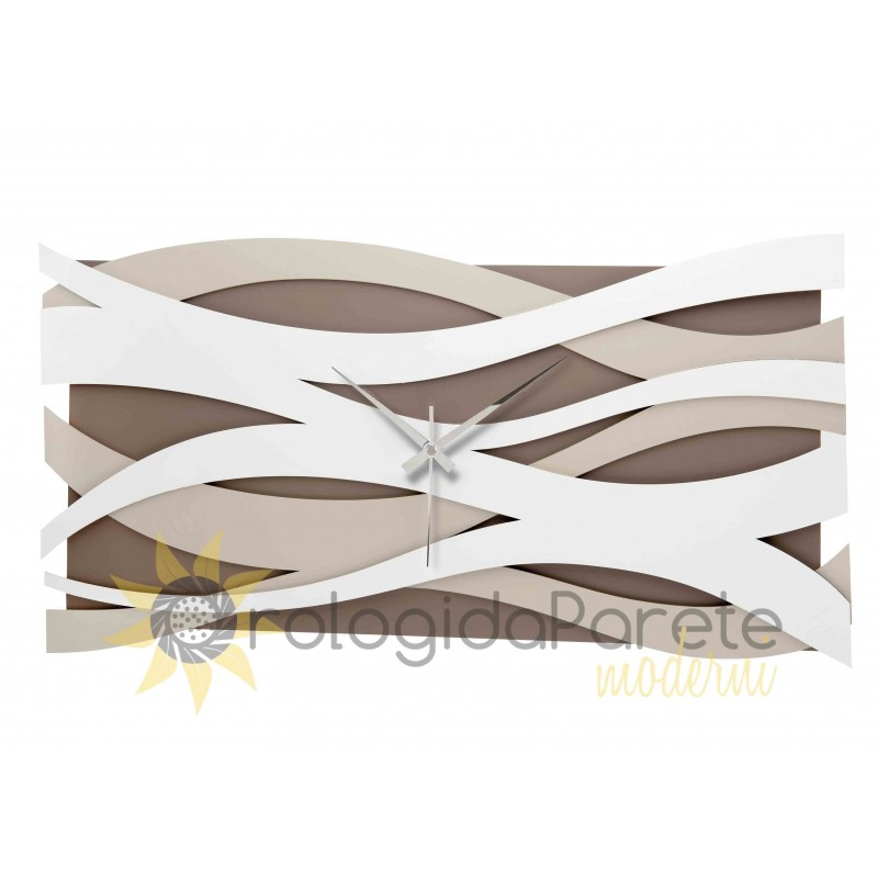 LARGE WALL CLOCK MODERN DESIGN WOOD