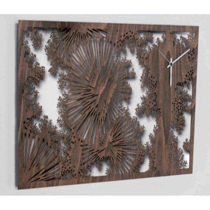 """WALL CLOCK IN WOOD COLLECTION """"THE DETAILS"""""""