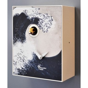 Orologio a cucù pirondini hokusai collezione d'apres