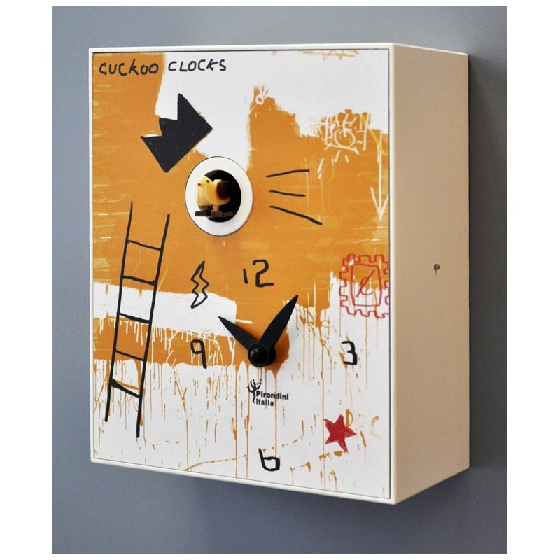 CLOCK CUCKOO BASQUIAT COLLECTION D'APRES