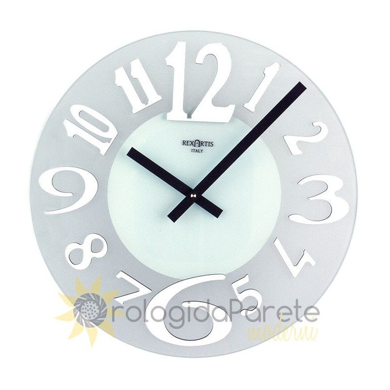 WATCH IN SATIN-finish GLASS - ICE COLOR