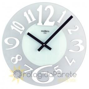 horloge murale en verre rexartis glace