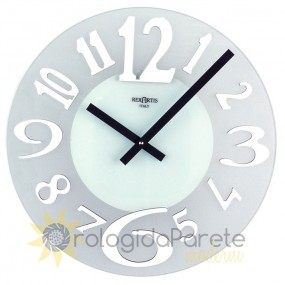 wall clock in glass rexartis ice