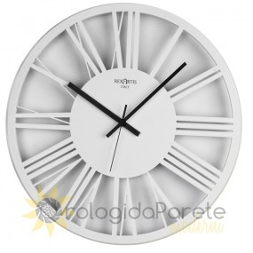 Wall clock round white imperial rexartis