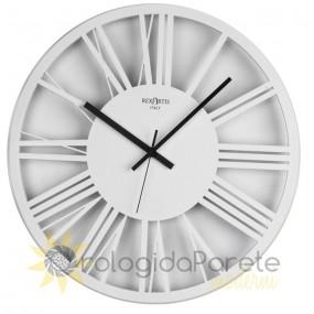 Wall clock round white imperial rexartis