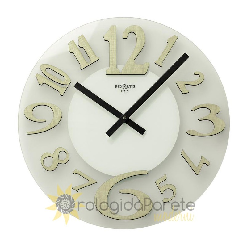 WATCH ICE ROUND GLASS MODERN SATIN finish
