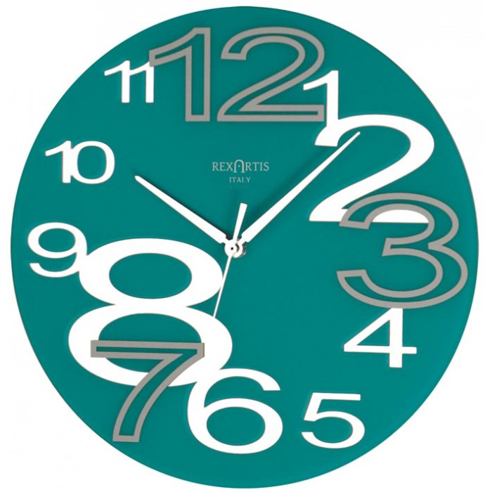 WALL CLOCK YOUNG ACQUAMARE