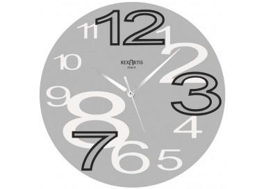 orologio da muro rexartis young silver, wall clocks grey