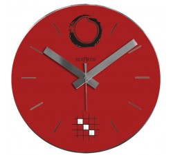 wall clock red, desy rexartis