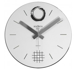 white wall clock, desy rexartis