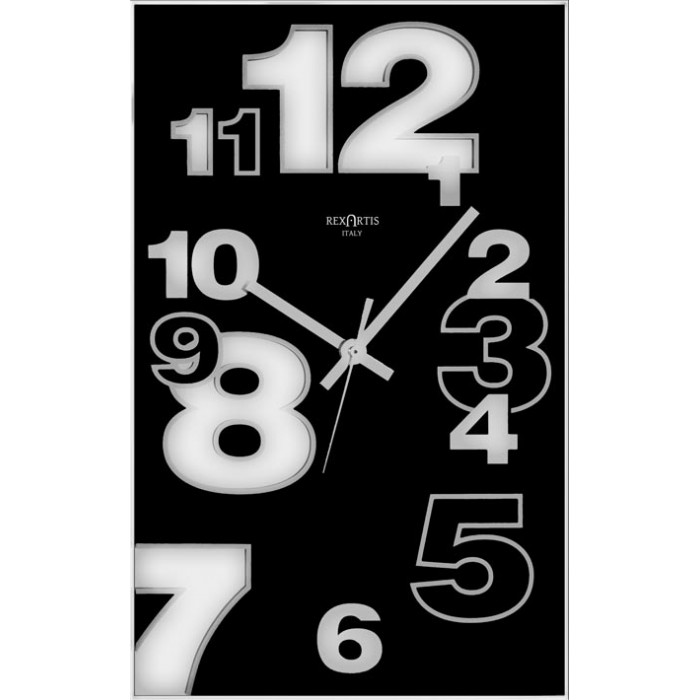 VERTICAL WALL CLOCK - DIRK BLACK