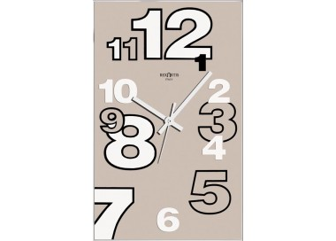 wall clock-dove, clear, dirk rexartis