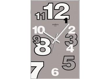horloge murale rexartis dirk tortora, verre