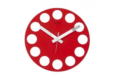 clock design, detail, red, roundtime rexartis