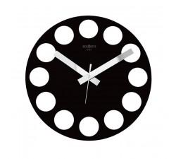 orologi da muro particolari, nero roundtime rexartis