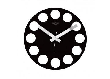 horloges murales spéciales, noir roundtime rexartis