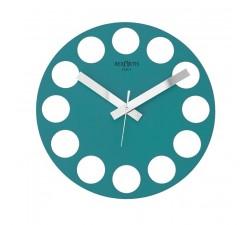 aquamarine wall clock, roundtime rexartis