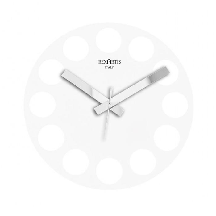 WHITE WALL CLOCK ROUNDTIME REXARTIS