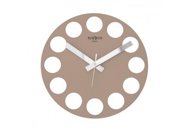 made in italy wall clocks, modern design, silent