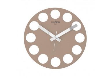 wall clock modern design, dove, clear, roundtime rexartis