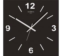 horloge murale noir, stilewood rexartis