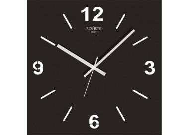 orologio da parete nero, stilewood rexartis