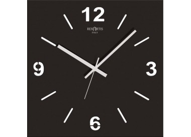 wall clock black, stilewood rexartis