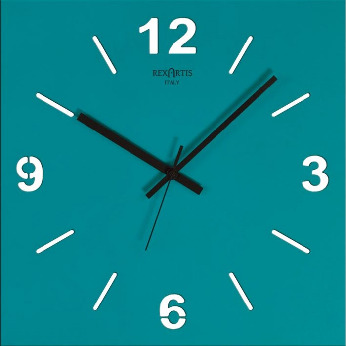 WALL CLOCK STYLE WOOD ACQUAMARE