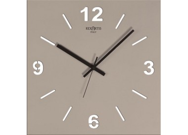 wall clock-dove, clear, rexartis stilewood
