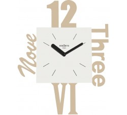 LIGHT TAUPE WALL CLOCK VARIETY