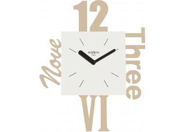 orologio rexartis variety tortora chiaro, orologi da soggiorno