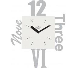 orologio rexartis variety grigio, orologi da soggiorno