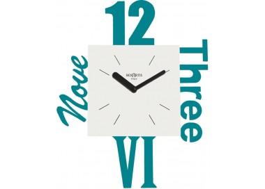 orologio da parete variety acquamare, rexartis