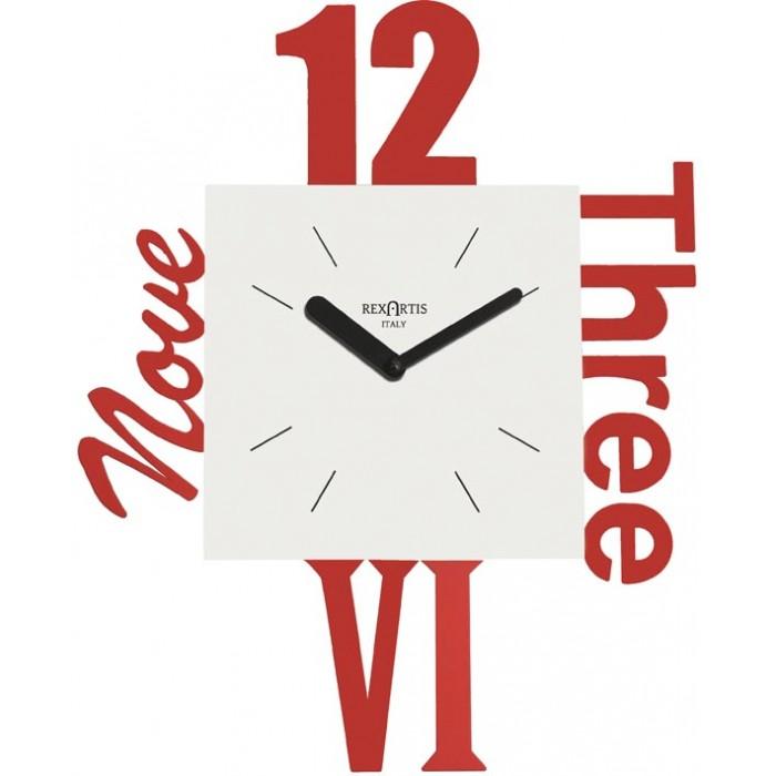 RED WALL CLOCK VARIETY