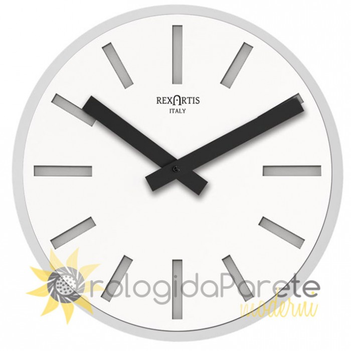 ALIOTH WHITE WALL CLOCK