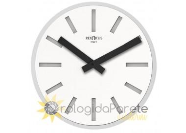 design de la montre ronde blanche alioth rexartis