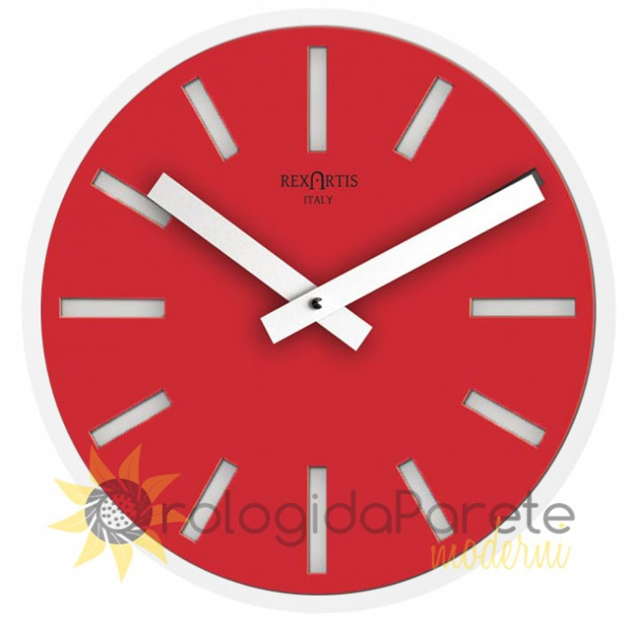 ALIOTH RED WALL CLOCK