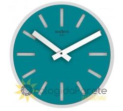 orologio di design azzurro acquamare rotondo alioth rexartis