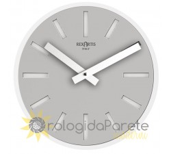 Grey wall clock, rexartis